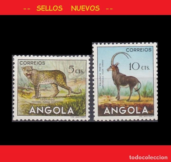 LOTE SELLOS NUEVOS - ANGOLA - FAUNA - AHORRA GASTOS COMPRA MAS SELLOS (Sellos - Extranjero - África - Angola)