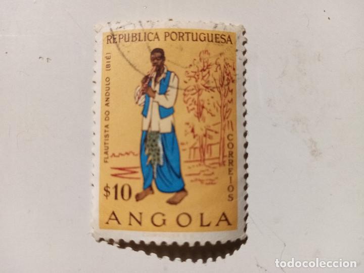 1957 TIPOS ANGOLEÑOS. REPUBLICA PORTUGUESA (Sellos - Extranjero - África - Angola)
