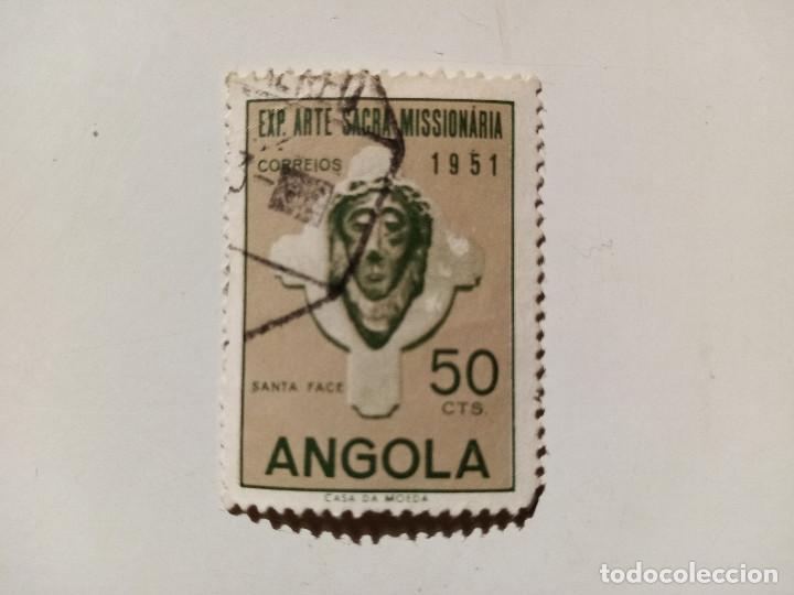 1952 EXPOSICIÓN DE ARTE SACRO MISIONERO. LISBOA, PORTUGAL. (Sellos - Extranjero - África - Angola)