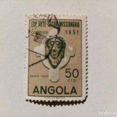Sellos: 1952 EXPOSICIÓN DE ARTE SACRO MISIONERO. LISBOA, PORTUGAL. . Lote 195613336