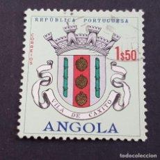 Sellos: ANGOLA PORTUGUESA,1963, ESCUDOS, AFINSA 465, YVERT 476, SCOTT 462, USADO, ( LOTE AR ). Lote 196621965