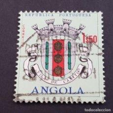 Sellos: ANGOLA PORTUGUESA,1963, ESCUDOS, AFINSA 465, YVERT 476, SCOTT 462, USADO, ( LOTE AR ). Lote 196621976