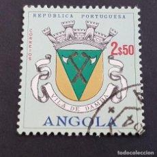 Sellos: ANGOLA PORTUGUESA,1963, ESCUDOS, AFINSA 467, YVERT 478, SCOTT 466, USADO, ( LOTE AR ). Lote 196622048