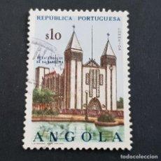 Sellos: ANGOLA PORTUGUESA,1963, IGLESIAS, AFINSA 480, YVERT Y SCOTT 491, USADO, ( LOTE AR ). Lote 196762285