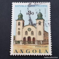 Sellos: ANGOLA PORTUGUESA,1963, IGLESIAS, AFINSA 482, YVERT Y SCOTT 493, USADO, ( LOTE AR ). Lote 196762353