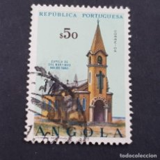 Sellos: ANGOLA PORTUGUESA,1963, IGLESIAS, AFINSA 484, YVERT Y SCOTT 495, USADO, ( LOTE AR ). Lote 196762400
