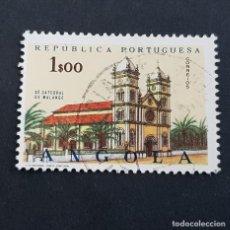 Sellos: ANGOLA PORTUGUESA,1963, IGLESIAS, AFINSA 485, YVERT Y SCOTT 496, USADO, ( LOTE AR ). Lote 196762461
