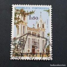 Sellos: ANGOLA PORTUGUESA,1963, IGLESIAS, AFINSA 486, YVERT Y SCOTT 497, USADO, ( LOTE AR ). Lote 196762482