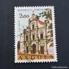 Sellos: ANGOLA PORTUGUESA,1963, IGLESIAS, AFINSA 488, YVERT Y SCOTT 499, USADO, ( LOTE AR ). Lote 196762625