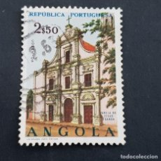 Sellos: ANGOLA PORTUGUESA,1963, IGLESIAS, AFINSA 488, YVERT Y SCOTT 499, USADO, ( LOTE AR ). Lote 196762638