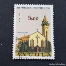 Sellos: ANGOLA PORTUGUESA,1963, IGLESIAS, AFINSA 493, YVERT Y SCOTT 504, USADO, ( LOTE AR ). Lote 196762741