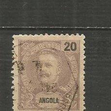 Sellos: ANGOLA COLONIA PORTUGUESA YVERT NUM. 42 USADO. Lote 200886135