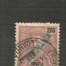 Sellos: ANGOLA COLONIA PORTUGUESA YVERT NUM. 175 USADO. Lote 200888998