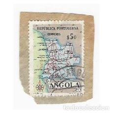 Sellos: SELLO ANGOLA COLONIA PORTUGUESA 50. Lote 203266110