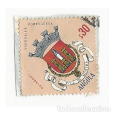 Sellos: SELLO ANGOLA COLONIA PORTUGUESA VILA DE MUXIMA 30. Lote 203266181
