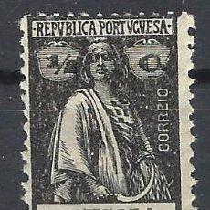Sellos: ANGOLA 1914-24 - CERES, PAPEL NORNAL - SELLO NUEVO **. Lote 205530750