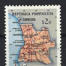 Sellos: ANGOLA 1955 - MAPA - SELLO NUEVO C/F*. Lote 205531282