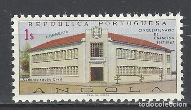 ANGOLA 1967 - 50º ANIV. DE LA FUNDACIÓN DE CARCOMA - SELLO NUEVO ** (Sellos - Extranjero - África - Angola)