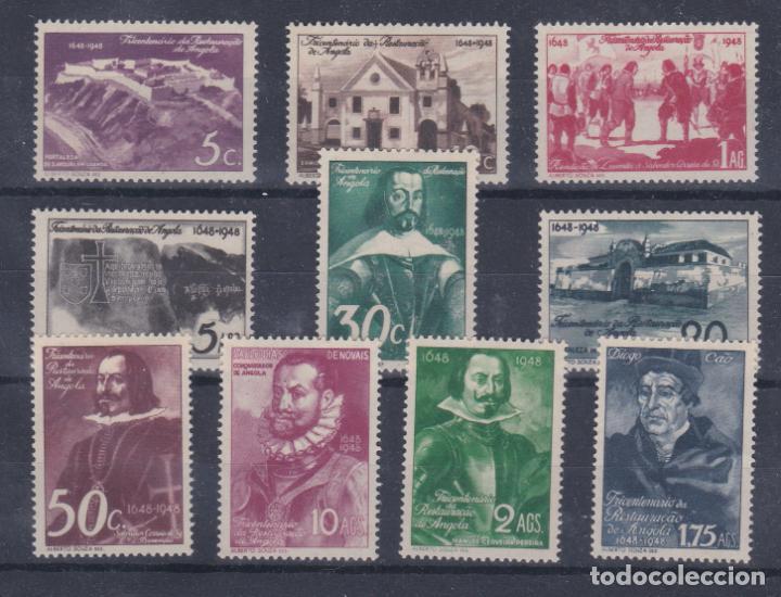 SERIE Nº 299/08 PERSONAJES DE ANGOLA PORTUGUESA NUEVOS SIN CHARNELA. (Sellos - Extranjero - África - Angola)
