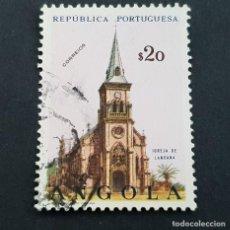 Sellos: ANGOLA PORTUGUESA,1963, IGLESIAS, AFINSA 481, YVERT Y SCOTT 492, USADO, ( LOTE AR ). Lote 206302810