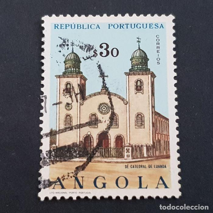 ANGOLA PORTUGUESA,1963, IGLESIAS, AFINSA 482, YVERT Y SCOTT 493, USADO, ( LOTE AR ) (Sellos - Extranjero - África - Angola)