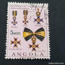 Sellos: ANGOLA PORTUGUESA,1967, ÓRDENES HONORÍFICAS, AFINSA 528, YVERT 548, SCOTT 539, USADO, ( LOTE AR ). Lote 206302905