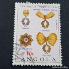 Sellos: ANGOLA PORTUGUESA,1967, ÓRDENES HONORÍFICAS, AFINSA 529, YVERT 549, SCOTT 540, USADO, ( LOTE AR ). Lote 206302945