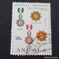 Sellos: ANGOLA PORTUGUESA,1967, ÓRDENES HONORÍFICAS, AFINSA 530, YVERT 550, SCOTT 541, USADO, ( LOTE AR ). Lote 206302986