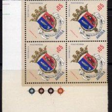 Sellos: ANGOLA 1963 MNH, BLOQUE MICHEL 449. Lote 209912412