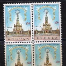 Sellos: ANGOLA 1967 MNH, BLOQUE MICHEL 541. Lote 209914992