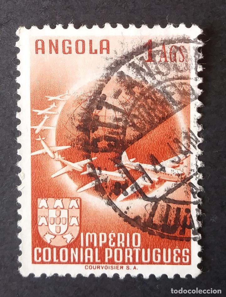 1949 ANGOLA SERIE CORREO AÉREO (Sellos - Extranjero - África - Angola)