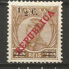 Sellos: ANGOLA COLONIA PORTUGUESA YVERT NUM. 189 * NUEVO CON FIJASELLOS. Lote 231703840