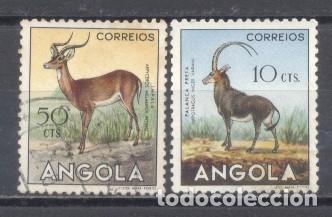ANGOLA 1953 USADO (Sellos - Extranjero - África - Angola)