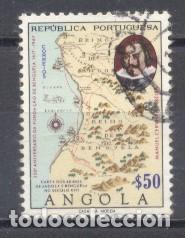 ANGOLA, USADO (Sellos - Extranjero - África - Angola)
