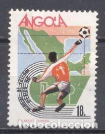 ANGOLA, SELLO USADO (Sellos - Extranjero - África - Angola)