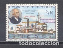 ANGOLA, 1969, CENT. DEL ALMIRANTE G.COUTINHO (Sellos - Extranjero - África - Angola)