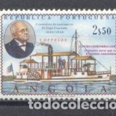 Sellos: ANGOLA, 1969, CENT. DEL ALMIRANTE G.COUTINHO. Lote 240710685