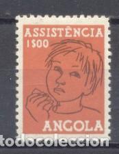 ANGOLA, ASISTENCIA (Sellos - Extranjero - África - Angola)