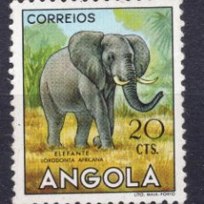Sellos: ANGOLA 1953 , STAMP ,, MICHEL 370. Lote 253717585