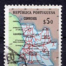Sellos: ANGOLA 1955 , STAMP ,, MICHEL 394. Lote 253718605