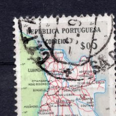 Sellos: ANGOLA 1955 , STAMP ,, MICHEL 392. Lote 253718710