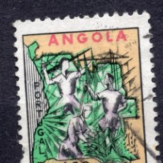 Sellos: ANGOLA 1965 , STAMP ,, MICHEL Z23. Lote 253719760