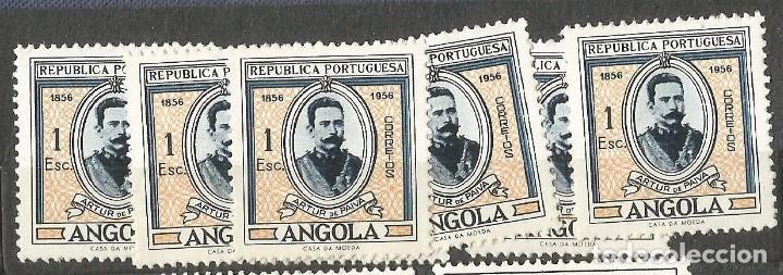 ANGOLA 1956 - ARTHUR DE PAIVA - 1 SELLO NUEVO (Sellos - Extranjero - África - Angola)
