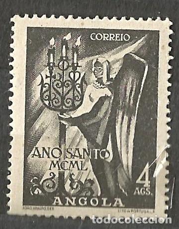 Sellos: ANGOLA 1950 - AÑO SANTO - 2 VALORES NUEVOS - Foto 2 - 254537870