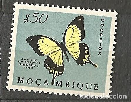 MOÇAMBIQUE - MOZAMBIQUE PORTUGUÉS - MARIPOSA - 50 - NUEVO (Sellos - Extranjero - África - Angola)