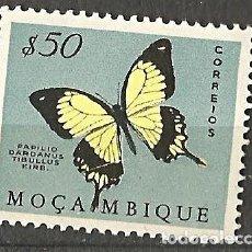 Sellos: MOÇAMBIQUE - MOZAMBIQUE PORTUGUÉS - MARIPOSA - 50 - NUEVO. Lote 254623295