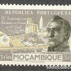 Sellos: MOÇAMBIQUE - IV CENTENARIO DE LA FUNDACIÓN DE S. PABLO - 1$ - NUEVO. Lote 254626550