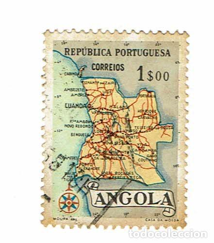 ANGOLA REPUBLICA PORTUGUESA - 1 SELLO (Sellos - Extranjero - África - Angola)