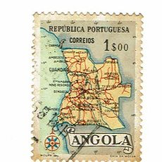 Sellos: ANGOLA REPUBLICA PORTUGUESA - 1 SELLO. Lote 255421330