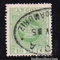 Sellos: ANGOLA COLONIA PORTUGUESA .10B USADA,. Lote 258983165